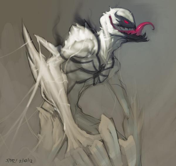 How To Draw Anti Venom
