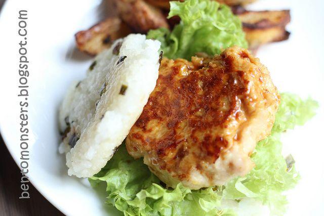 Juicy chicken patty | Food - Meatballs & Hamburg steak | Pinterest