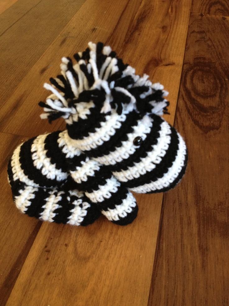 Crochet Zebra : amigurumi zebra Crochet inspiration Pinterest