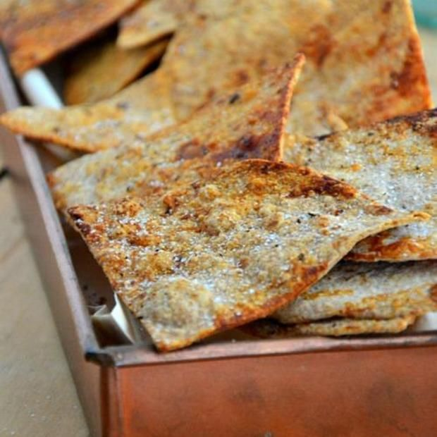 Gluten-Free Baked Cumin Tortilla Chips | Appetizers Recipes | Pintere ...