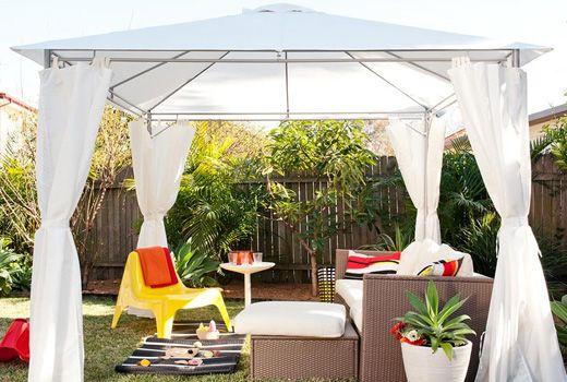 Gazebos ikea garden gazebos - Ikea pergolas jardin ...