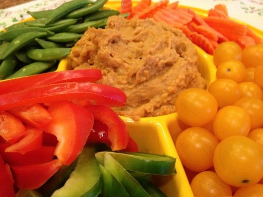 Spiced Sweet Potato Hummus - fabulous tasting snack or appetizer that ...