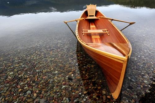 Adirondack Guide Boat Lake Pinterest