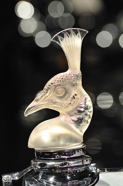 Lalique Hood Ornament <3