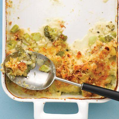 Broccoli Gratin #ThanksgivingSides