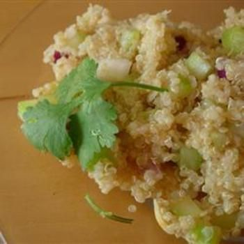 Lemony Quinoa. Looks good. And I don't know how to cook Quinoa, good ...