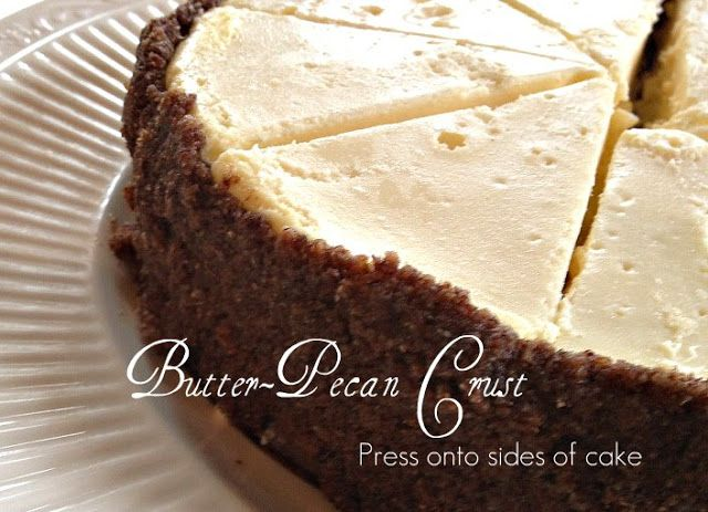 ... Farm: Foodie Friday: Butter Pecan Crust for a Low Carb Cheesecake