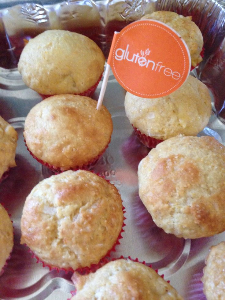 Pineapple, coconut corn muffins! | ABC Gluten-free on Livestream.com ...