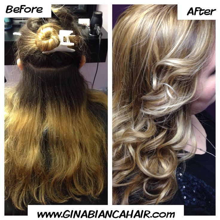 ... lowlights make a huge difference ! www.GINABIANCAHAIR.com fall 2013