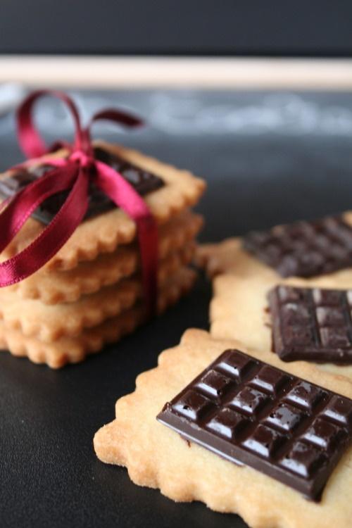 Galetes de mantega i xocolata - Petit Ecolier casolanes