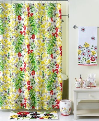 Kids Bathroom Accessories on Bath  Wildflower Collection   Bath Accessories   Shower   Bed   Bath