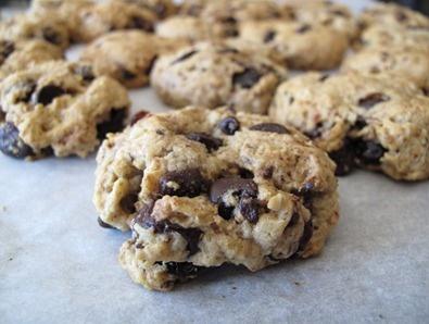 cherry chocolate chip cookies | Vegan Delights | Pinterest