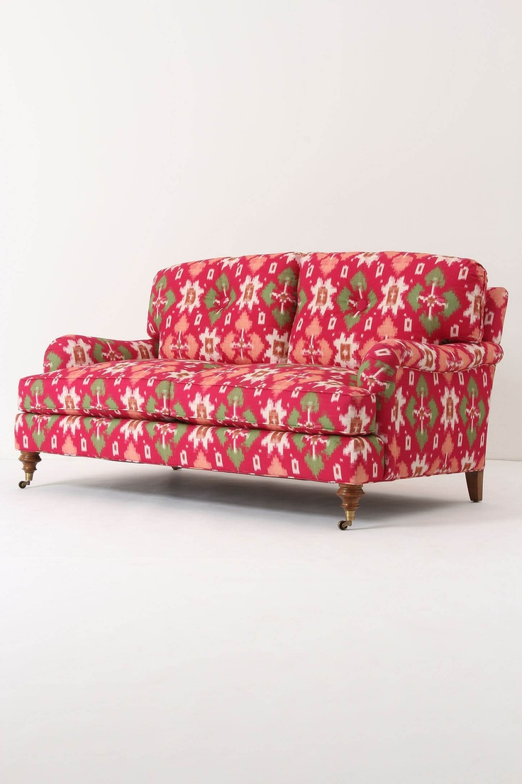Winifred Settee, Bougainvillea by Anthropologie >> Awesome piece