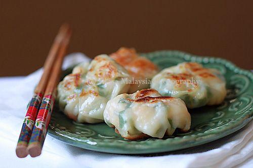 Shrimp and Chive Dumplings from Rasa Malaysia. http://rasamalaysia.com ...