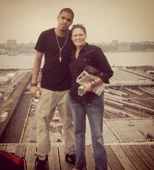 J Cole Mother J & his mom | J Co...