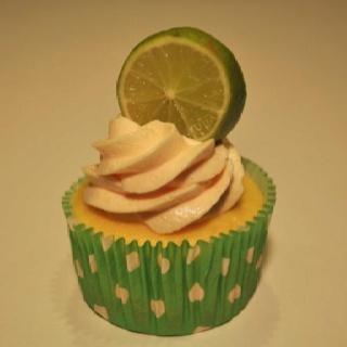 Skinny Coconut Lime Cupcake