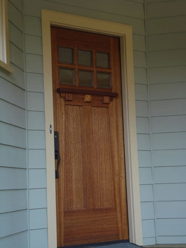 Craftsman Bungalow Door Things I Would Put In My Home Pinterest