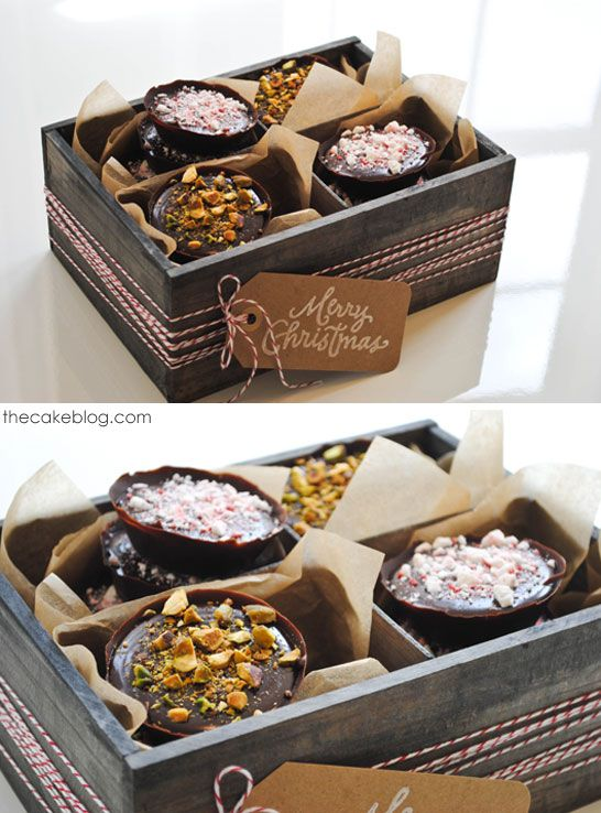 No Bake Chocolate Truffle Tarts   perfect for holiday gift giving