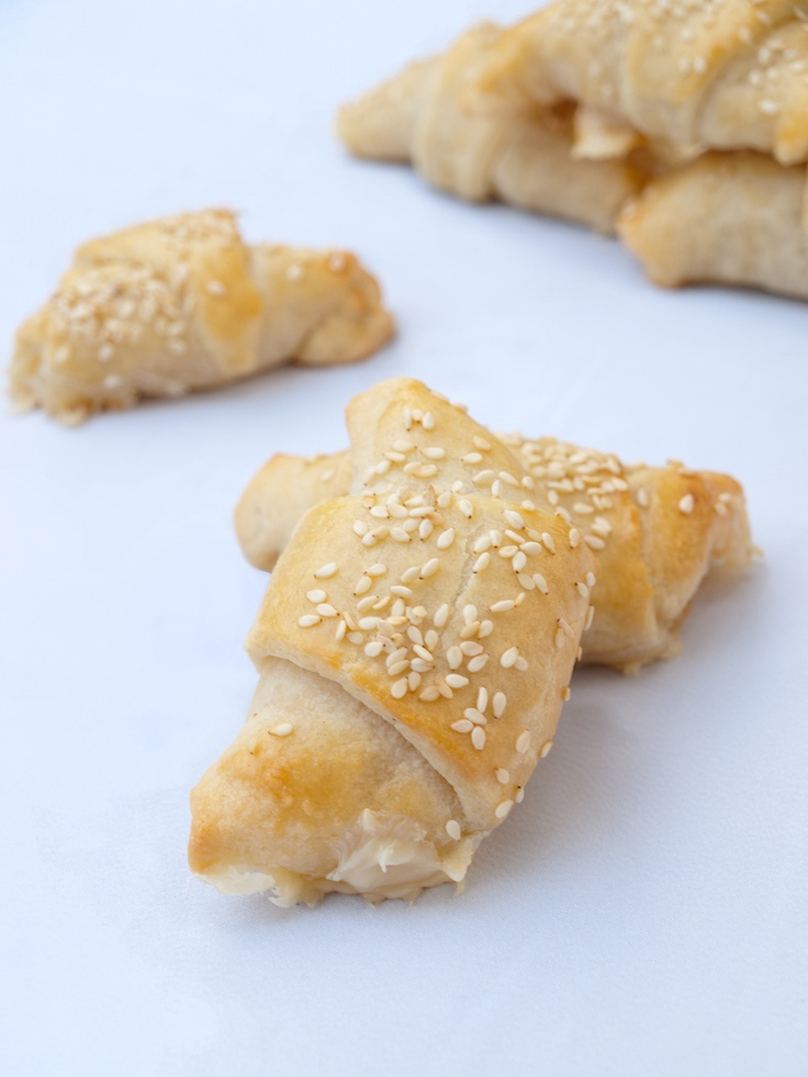 Ham and Cheese Crescents for #Sundaysupper