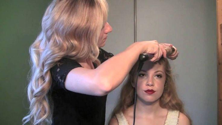 1930s long hair tutorial | Hairstyle Videos | Pinterest