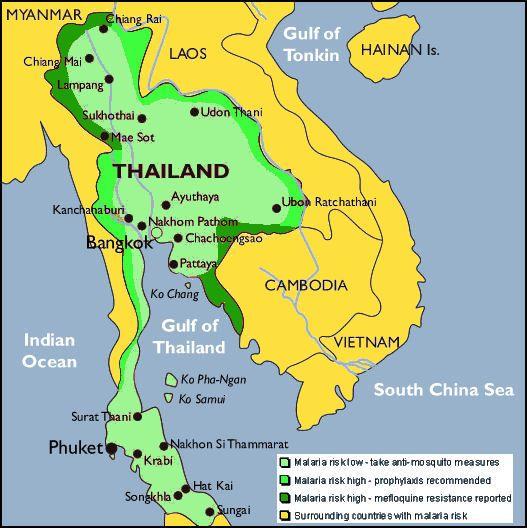 travel vaccinations thailand laos cambodia