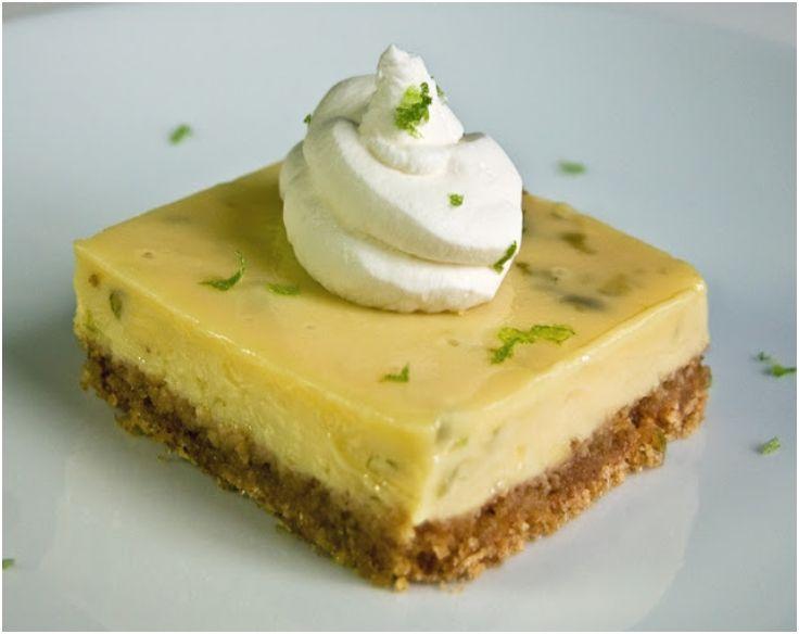 Tart key lime squares | Desserts | Pinterest