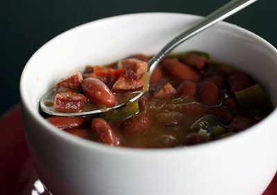 Clean Eating} Cajun Red Beans & Rice | GF- Soups | Pinterest