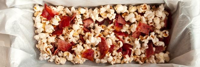 Chocolate Bacon Popcorn | Desserts | Pinterest