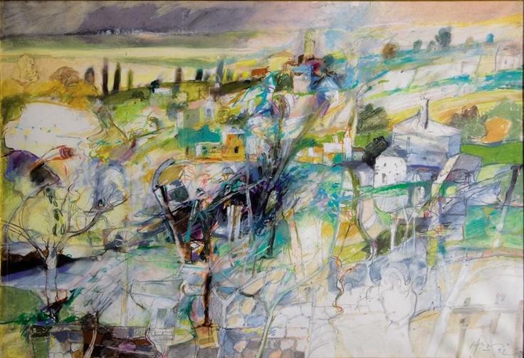 Carlos Alonso, paisaje de Unquillo