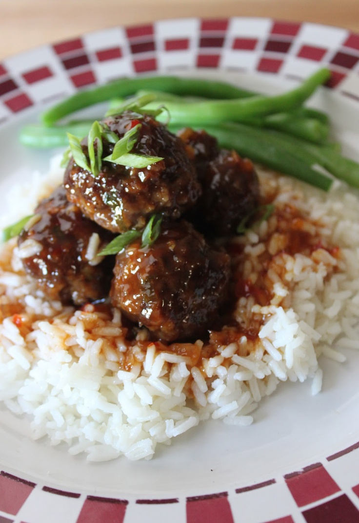 Spicy, Sweet and Sour Asian Meatballs. | Beef | Pinterest