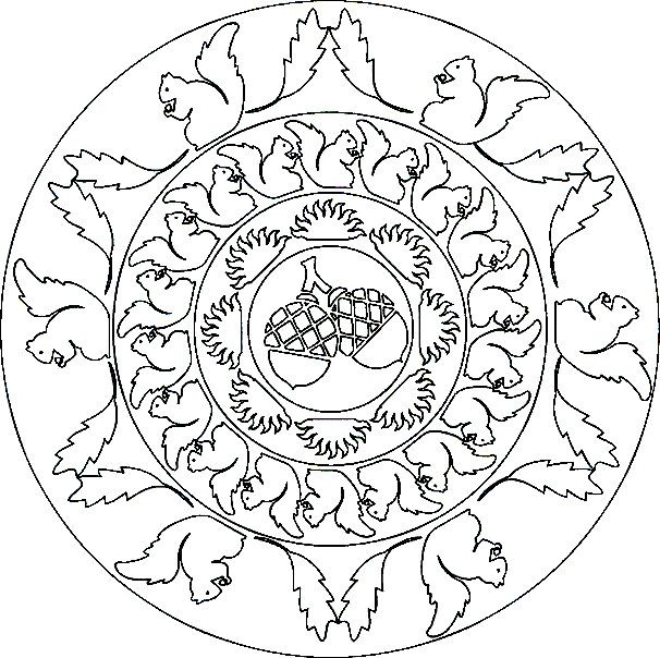sacred mandala coloring pages - photo#50