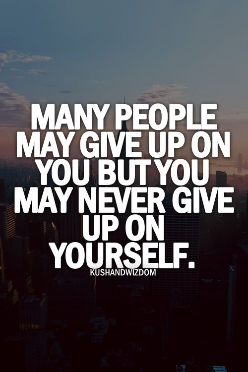 Quotes About Never Giving Up Tumblr   www.imgkid.com - The ...