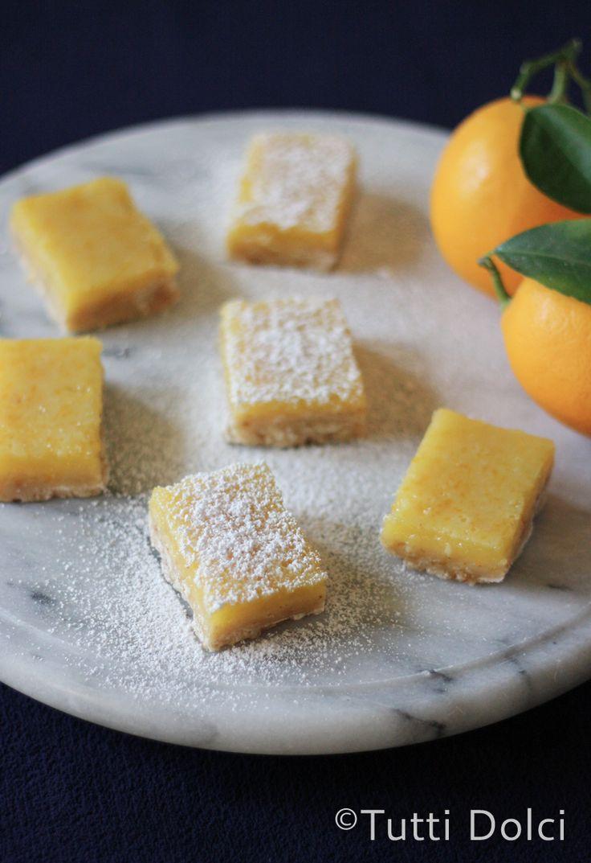 Meyer Lemon-Brown Butter Bars from @Laura | Tutti Dolci