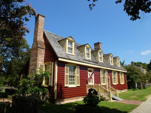 Yorktown Va Ballard House Curb Appeal Prim Style