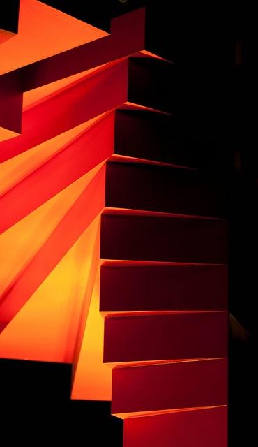 Spiral staircase orange google search