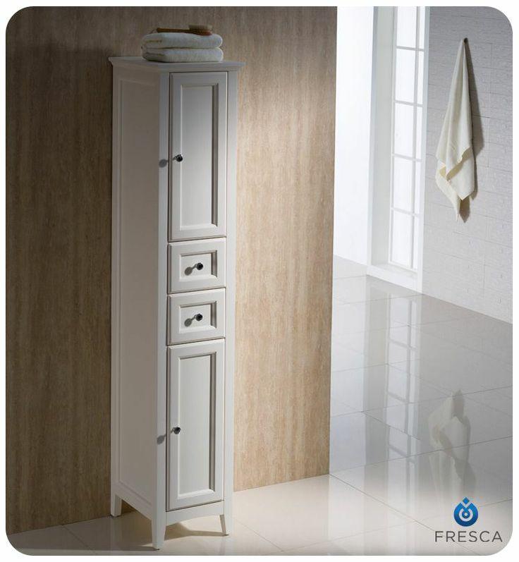 Oxford 14 x 68 bathroom linen cabinet for Bathroom linen cabinet designs