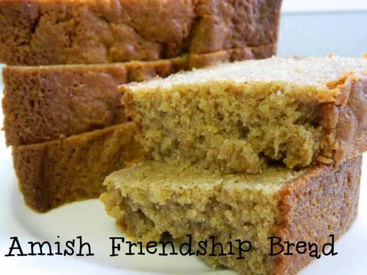 Amish bread GREAT RECIPE..... Fun sharing and passing along the ...