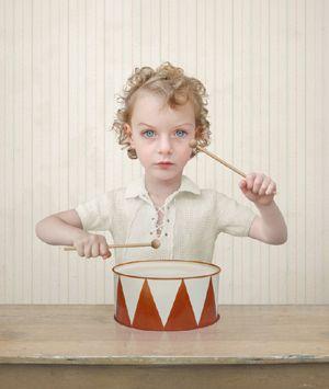 Little drummer boy; photostyling