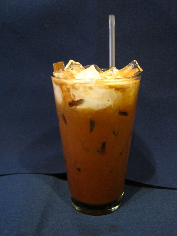 Pacific Thai's Thai Iced Coffee | Boba Drinks | Pinterest