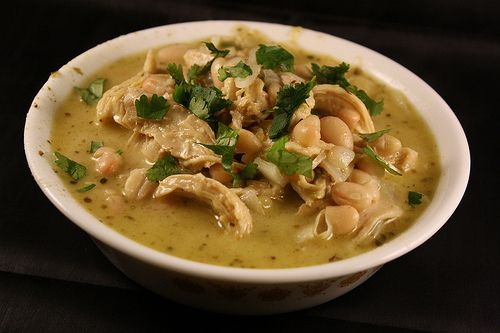 White Chicken Chili - even better with the addition of corn and ...