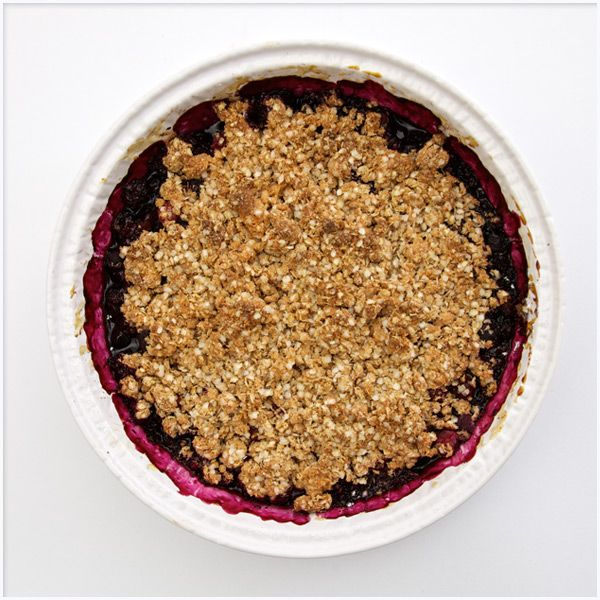 Frozen Winter Berry Crisp | Sweetness | Pinterest