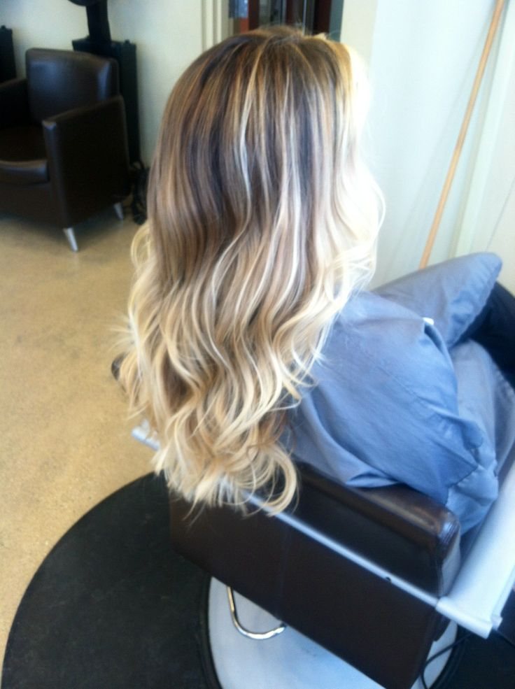 Hair painting, highlights, balayage | my work | Pinterest