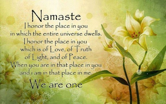 Meaning Of Namaste Quotes Pinterest