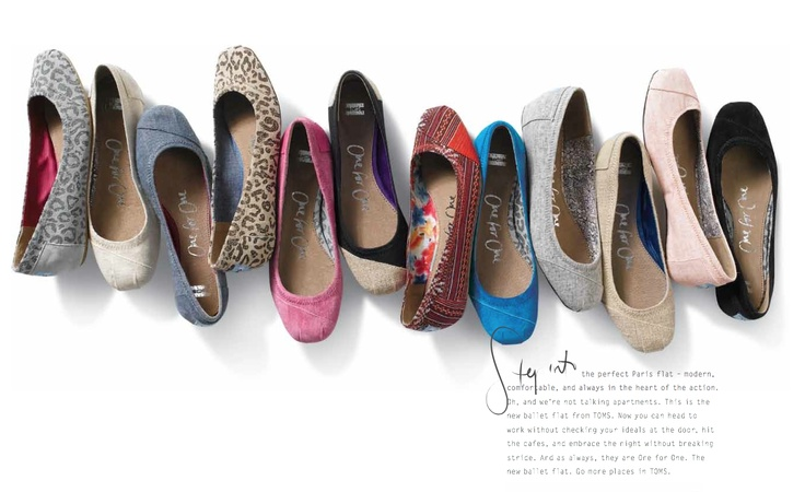 Good news! TOMS Ballet Flats coming Spring, 2012.