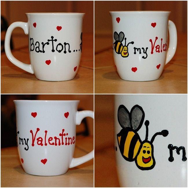 valentine's day gift mug