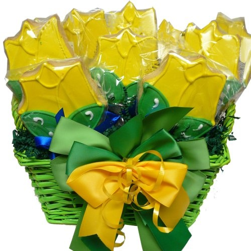 Spring has sprung tulip cookie bouquet gift 171 delay gifts