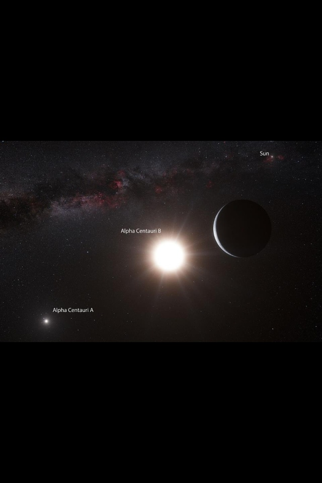 Alpha Centauri System Hubble (page 2) - Pics about space