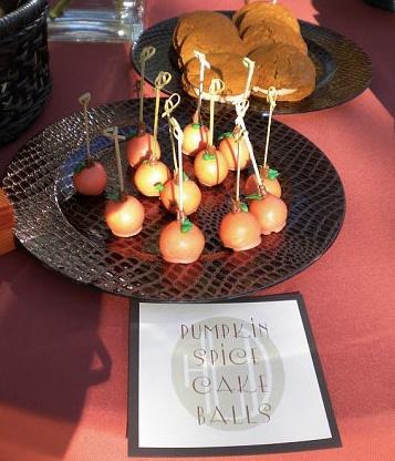 pumpkin spice cake balls | Yummy Recipes | Pinterest
