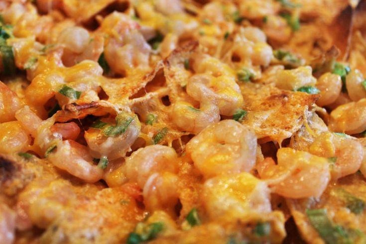 Shrimp Nachos! NEED I SAY MORE?? #win Tailgating • Food • Football ...