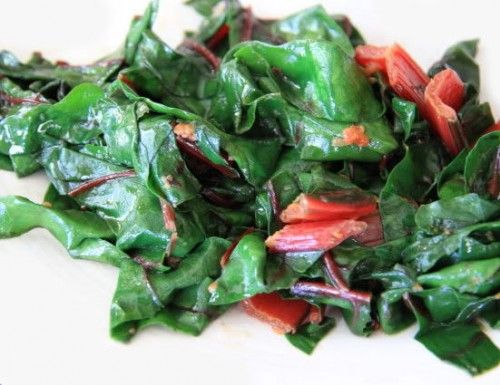 Sauteed Swiss Chard with Lemon and Parmesan Cheese - http ...